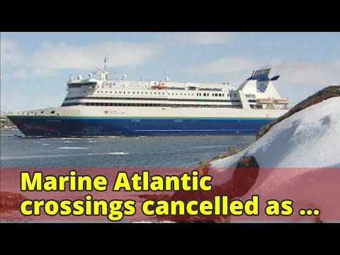 Marine Atlantic crossings cancelled as strong winds pick up in western Newfoundland
