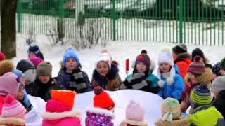 видео Зимние игры и забавы 2016