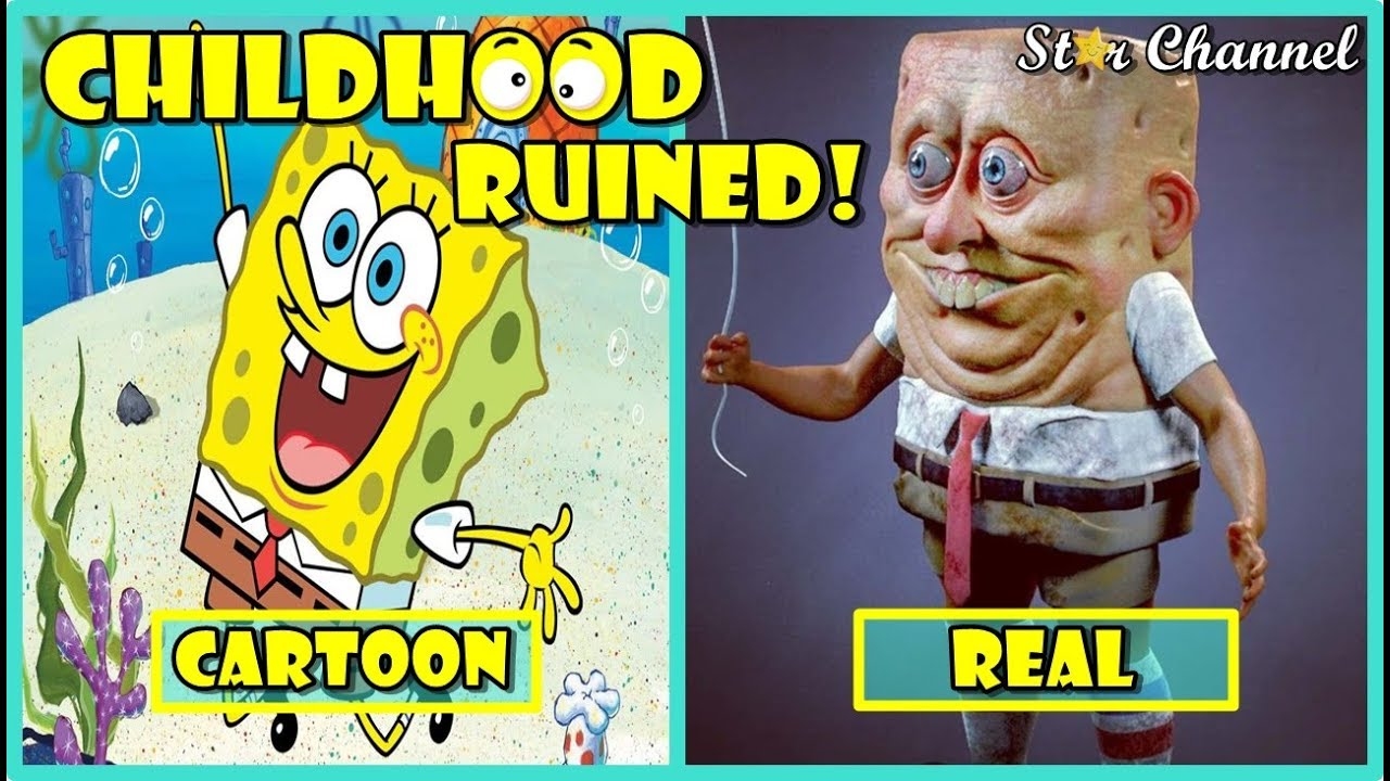 Cartoon Characters In Real Life Funny Pictures Youtube