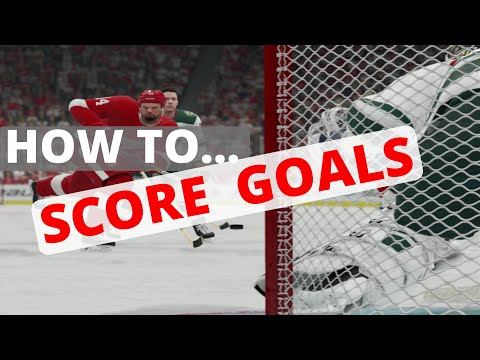 NHL 20 HOW TO SCORE GOALS (FULL GUIDE)