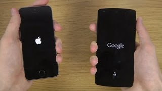 iPhone 5S iOS 8 vs. Google Nexus 5 Android 4.4.3 KitKat - Which Is Faster?