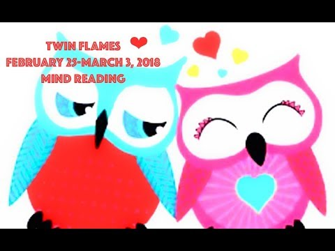 ☆TWIN FLAMES WEEKLY☆Mind Reading February 25-March 3, 2018 *The truth will be said*💘