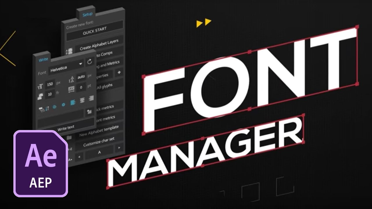 font manager after effects free download