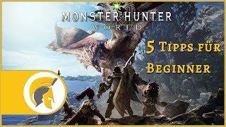 Monster Hunter World - Beginner Guide! [deutsch][gameplay]