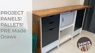 BUFFET, BENCH, CABINET? How I made it?