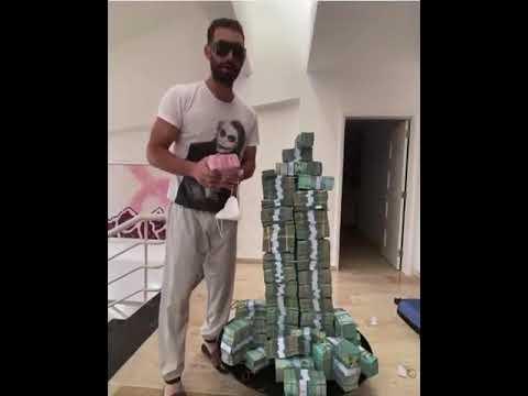 Karim enciende las redes con vídeo donde muestra dinero que usará en las elecciones.