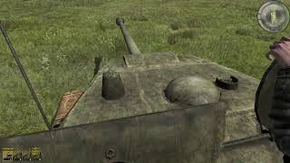 Amazing Tank Gameplay from WW2 Simulator Game on PC Iron Front 1944