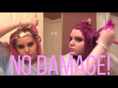 ✿Dyeing My Hair Fuchsia With Little To No Damage✿