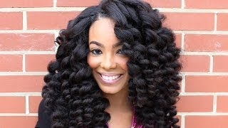 HeatFreeTV: Curl Wanding Heat Free® Hair Style Tutorial(Create big soft curls with Heat Free® Hair! In this video, founder Ngozi Opara shows how to properly install a weave and how to style it using Heat Free Hair's ..., 2014-05-28T13:00:25.000Z)