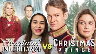Christmas Inheritance vs A Christmas Prince - Movie Review