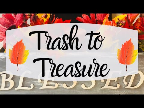 ✨TRASH TO TREASURE | THRIFT TO TREASURE | UPCYCLE PROJECTS | FARMHOUSE DECORATING IDEAS✨