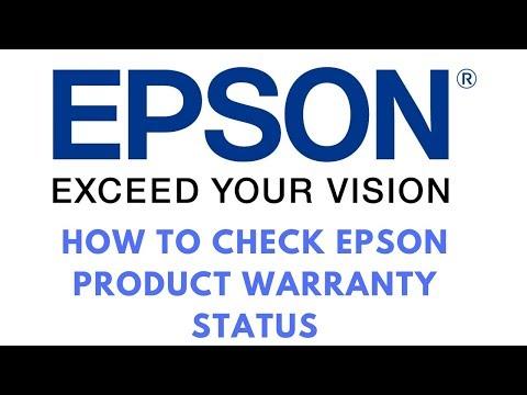 How To Check Epson Printers Warranty Status