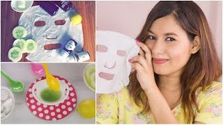 DIY Face Masks (Sheet Masks) | Sonal Sagaraya #DIYWithSonal