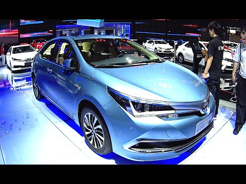 All New 2016 2017 Toyota Corolla Hybrid World Premiere You