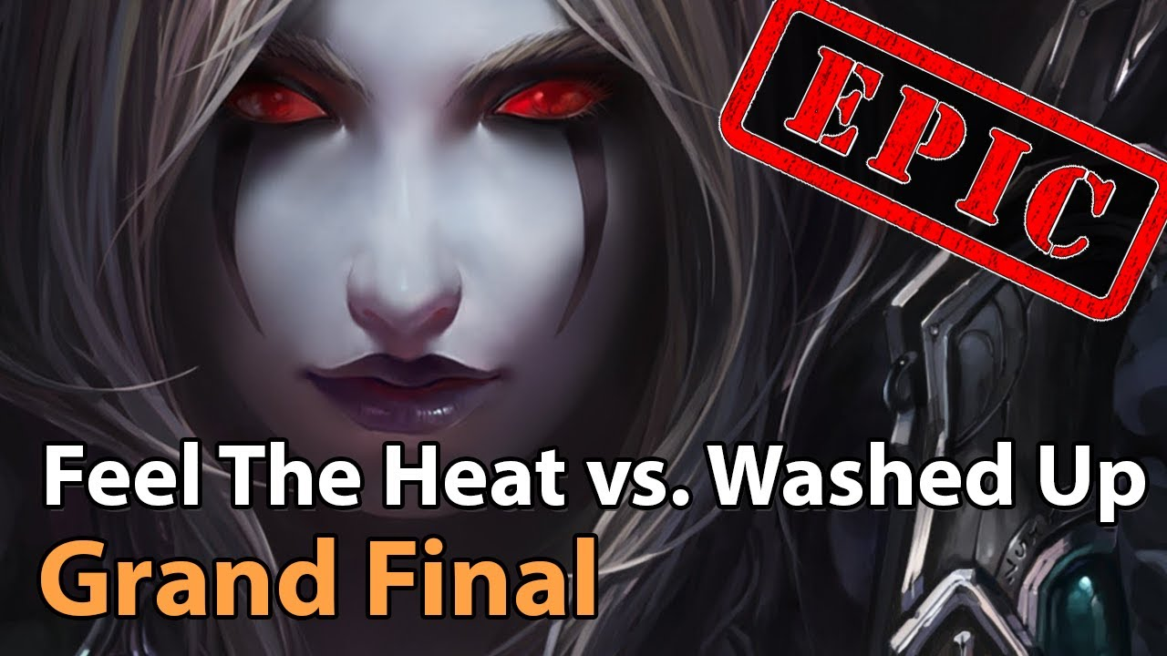 ► Washed Up vs. Feel The Heat - Grand Final - Ice Cold Cup - Heroes of the Storm Esports