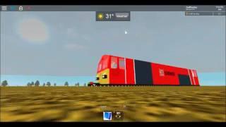 ROBLOX | DB Schenker Class 66 Tonham central-Carlton FULL JOURNEY