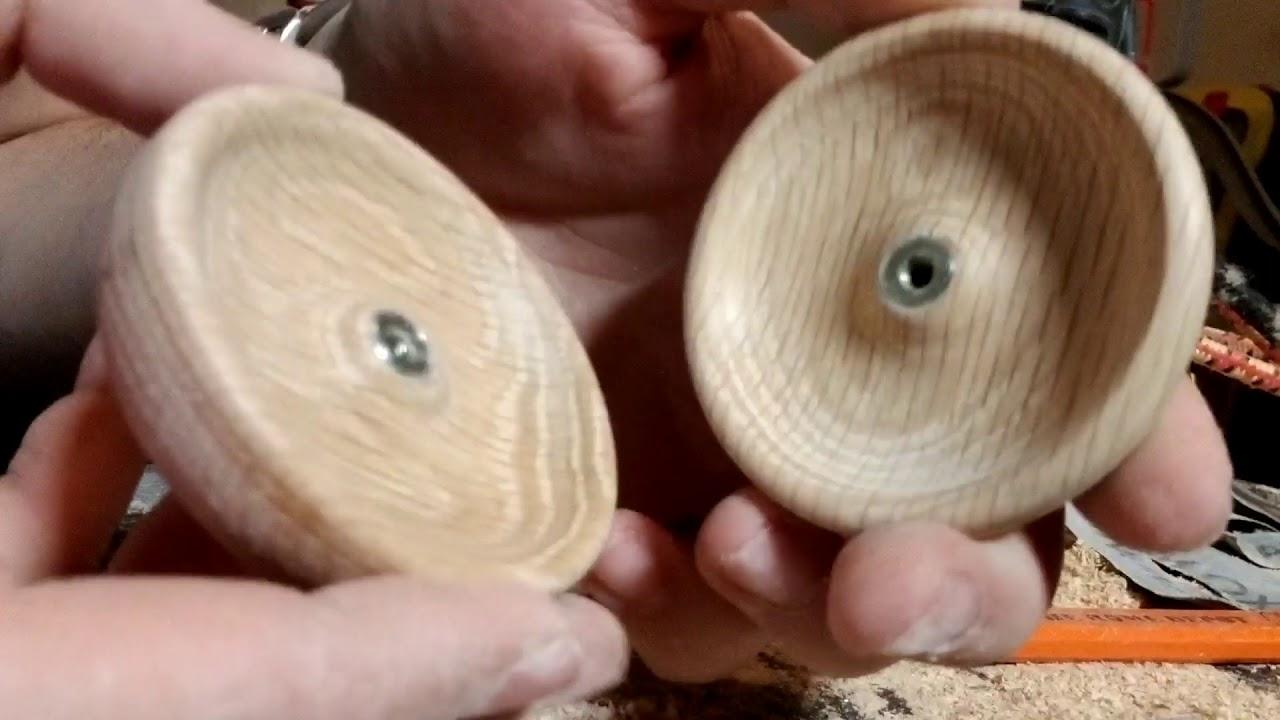 how to make a wood yoyo