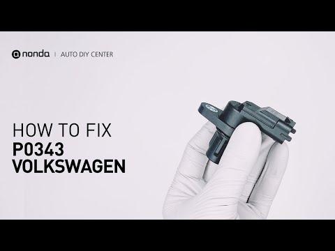 How to Fix  VOLKSWAGEN P0343 Engine Code in 3 Minutes [2 DIY Methods / Only $9.76]