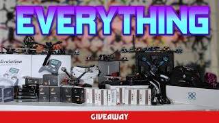BIGGEST GIVEAWAY FPV HAS EVER SEEN! Thousands of dollars worth