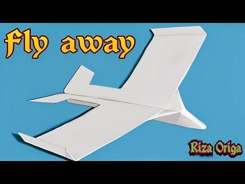 membuat origami pesawat kertas agar terbang lama dan jauh