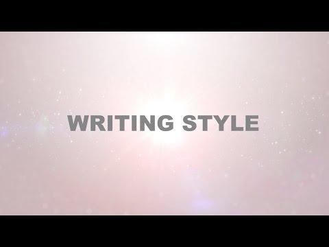 Journal Writing Style