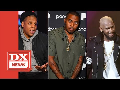 Nas Says Jay-Z Knew About RKelly Having 14 Year Old Girls In His Studio On Wendy Williams