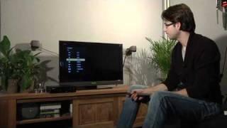 Installatie Interactieve TV van KPN op een Sony LCD TV (incl. met de draadloze verbindingsset)