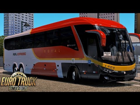 Euro Truck Simulator 2 Bus | Real Expresso - São Paulo/Brasília - RBR + EAA