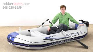 The New Intex Mariner 3 Inflatable Raft
