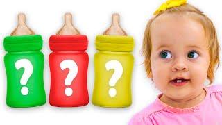 Maya pretend play with baby | Maya and Mary Nursery Rhymes & Kids Songs