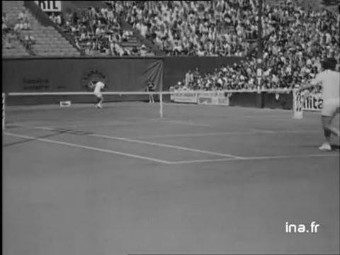 Tennis internationaux de France Barthes Borg
