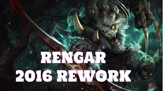 [LoL:PBE-6.22] Rengar Rework Preview