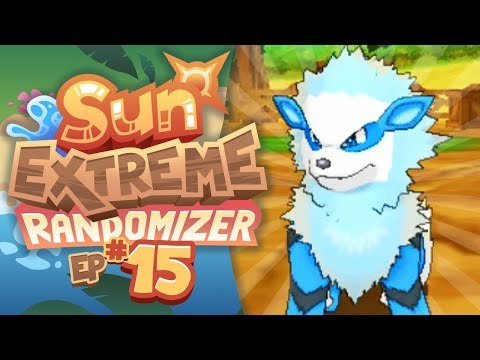 ALOLAN WATER ARCANINE!! - Pokemon Sun Extreme Randomizer (Episode 15)