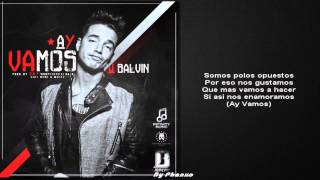 J Balvin Ay Vamos Ft Nicky Jam MP3 Remix Letra