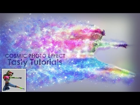 Cosmic Photo Effect Photoshop Tutorial