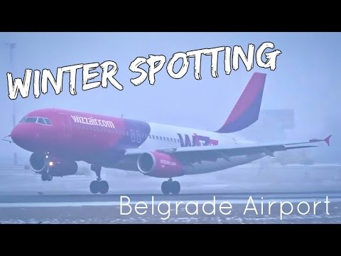 Winter Plane Spotting @ Belgrade Nikola Tesla Airport