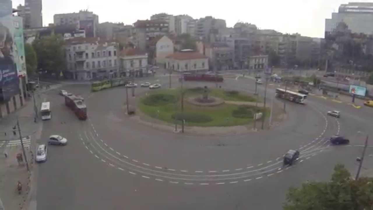 Beograd Slavija Iz Vazduha Youtube