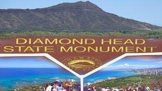 Daimond Head , Oahu - Hawaii 4K