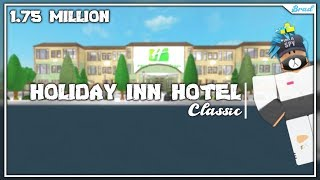 ROBLOX | BloxBurg : Mega Hotel : Speed Build | 1.75 MILLION