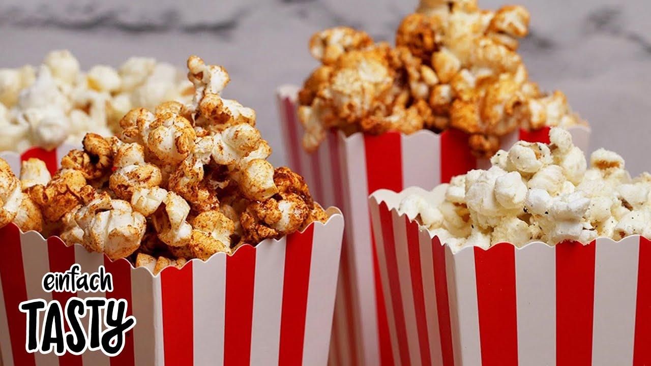 """Hast du schon mal Popcorn mit """"Cheese & Onion""""- oder Paprika-Geschmack probiert?"""