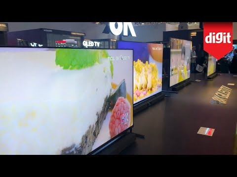 Here Are TCL's 8K TVs For 2020 : From CES 2020