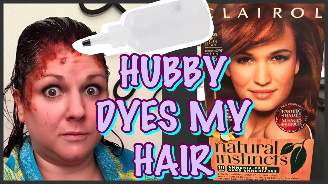 Husband Dyes Wife S Hair Too Red