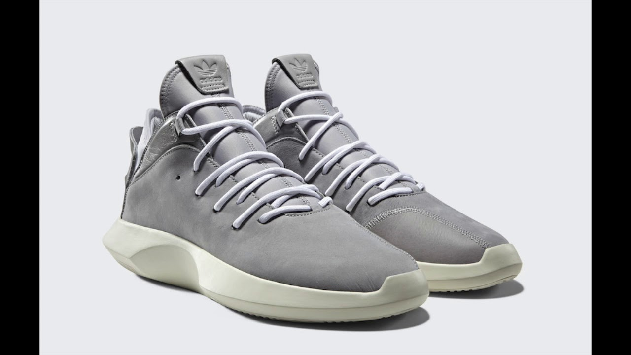 Adidas - Crazy 1 ADV - Grey Off-White - YouTube af6c8813c275