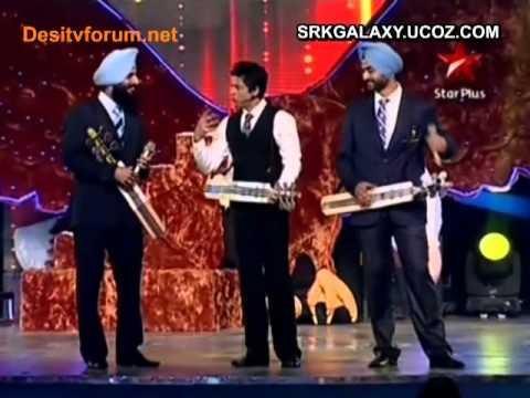 Shahrukh Khan~Sahara India Sports Awards  4th December 2010(pt1)