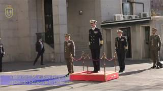190305 Visita de S.M. el Rey Felipe VI al Estado Mayor de la Defensa