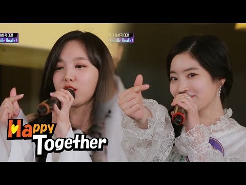 """Really Really"" (Winner) By TWICE~ [Happy Together Ep 537]"