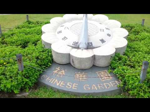 travel and tour Chinese garden in Singapore.beautiful scenery on100% real captured videos