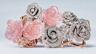 Top 10 | Most Beautiful Diamond Jewelry from Christian Dior ( part 2 )