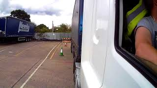 Class 1 Reversing Exercise HGV Training By Blue Triangle Training