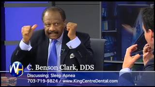 Sleep Apnea, Virginia Dentist C. Benson Clark DDS